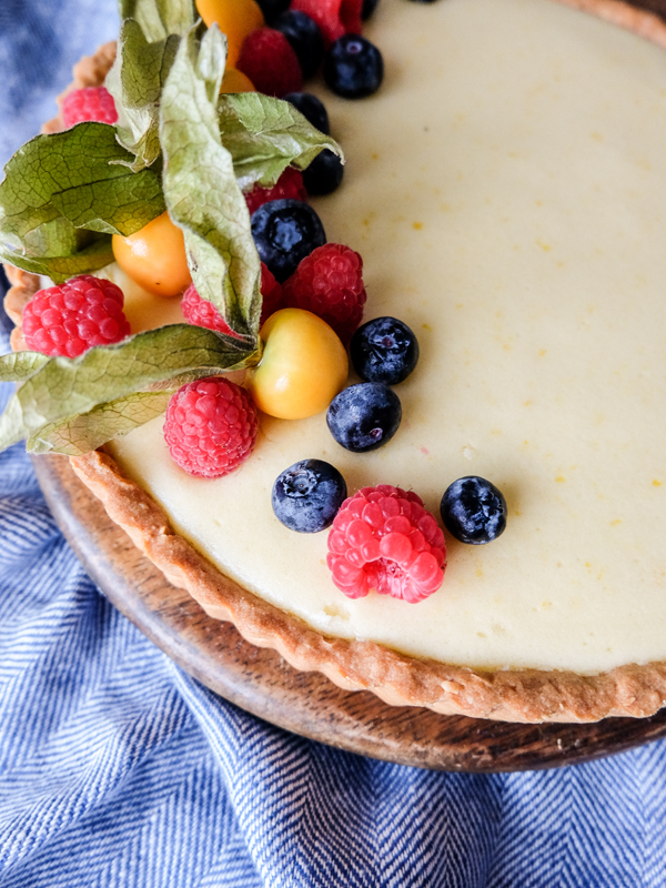 Lemon sabayon tart recipe | Hello Victoria