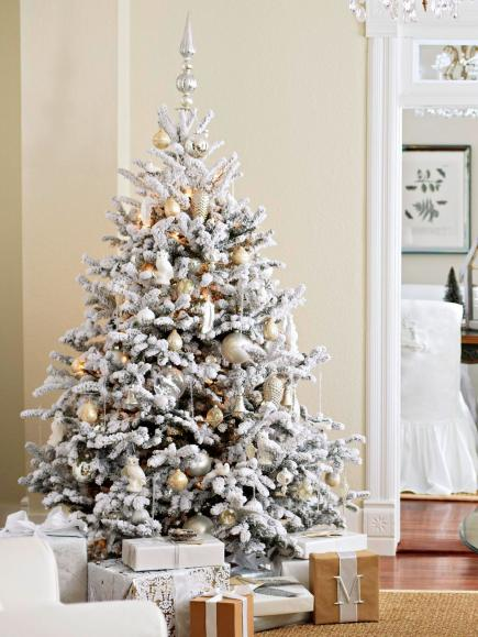 Christmas archives hello victoria flocked christmas tree inspiration hello victoria solutioingenieria
